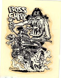 ED Roth STUDIOS, drawn by Ed Newton