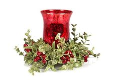 Elegant, Trendy and Festive Christmas Table Candle Centerpieces These are beautiful Christmas home decorations for your kitchen table. These Christmas candle centerpieces make your Christmas merrier, jolly and festive. In addition, you will get some abs Red Candle Holders, Glass Tea Light Holders, Christmas Candle Holders, Red Candles, Tea Light Candles, Tea Lights, Christmas Candle Centerpieces, Christmas Decorations, Centerpiece Ideas