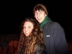 Parker Schnabel & his girlfriend.