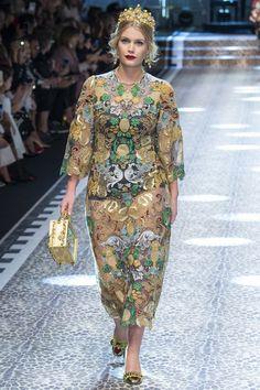 Dolce & Gabbana, осень-зима 2017 - 2018 15