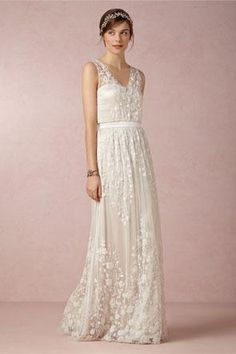 Floral Wedding Dresses - Weddbook