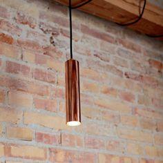 LED Downlight Ø54 copper #copper #brass #pendants #lamps #light #design #Danish #Scandinavia