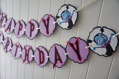 ***** CURRENT TURN AROUND TIME IS 3-4 WEEKS!! ***** If you need an order to be delivered sooner, please add on the rush my order option: https://www.etsy.com/listing/231252227/rush-order-front-of-the-line-expedited Celebrate your next party with this fun and colorful banner! Happy