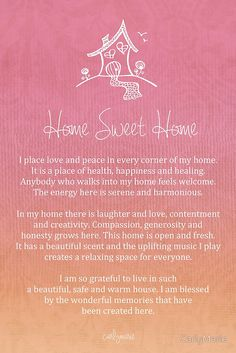 Affirmation - Home - Single Person by CarlyMarie