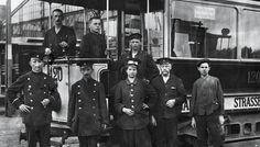 Berliner Strassenbahn-Werkstatt Personal 1917