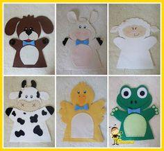 Textual description of firstImageUrl Felt Puppets, Finger Puppets, Animal Hand Puppets, Felt Games, Gifts For Boys, Felt Crafts, Wool Felt, Kindergarten, Crochet Patterns