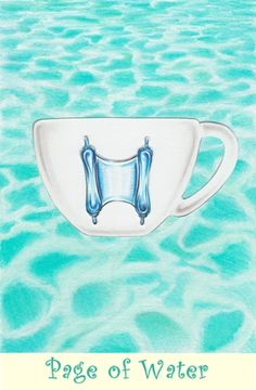 Page of Water from the Coffee Tarot