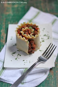 Busy in Brooklyn » Blog Archive » Spinach Meat Lasagna Roll-Ups