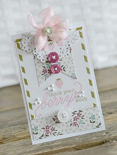 Paper Girl Crafts: Created with Papertrey Ink and Kaisercraft products