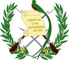Escudo Nacional de Guatemala.