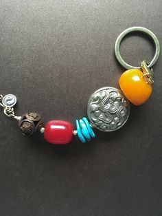Unique Keychain Vintage Amulet Hand Carved Buddhas by MinedStars