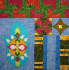 Boho Bliss Block 3 Quilt Pattern TCQ-37