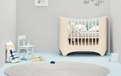 leander cot - danish cot - compact cot - scandi cot - space-saving cot - scandi nursery - extendable cot - cotbed - stylish cot - nursery furniture - contemporary cot - go to your room!