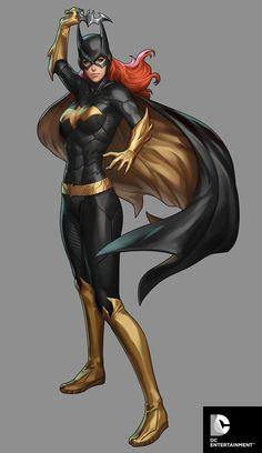 "Batgirl-Statue Design for DC Collectibles  by Stanley ""Artgerm"" Lau"