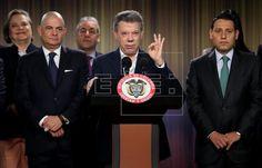 Santos: si no se aprueba plebiscito de la paz FARC se devolverán a la selva