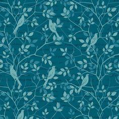 Cotton Fabric  Fat Quarter Makower Plum Spraytime