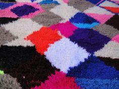 Azilal Marokkaanse handgemaakte berber tapijt door moroccowool