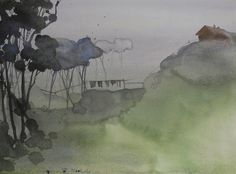 Mist and rains in Meghalaya