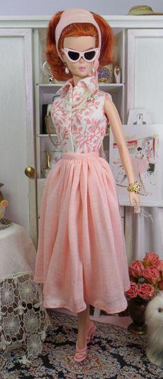 Sunlit Coral for Silkstone Barbie