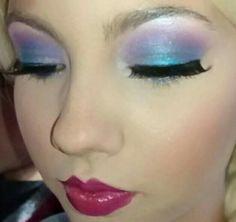 Make up Elsa Frozen