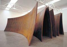 Installation From Richard Serra http://mymagicalattic.blogspot.com.tr/2014/01/sculptor-richard-serra.html