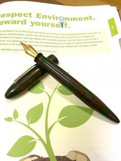 ASA Translucent Acrylic Nauka Fountain Pen - ASAPENS | India | Buy Online | Fountain Pens | Writing Instruments