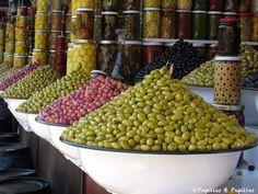 Olives, Marrakech Pour retrouver PAPILLES ET PUPILLES et voir ses épingles sur le MAROC