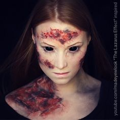 #THELAZARUSEFFECT tutorial will be up TONIGHT on @youtube /madeyewlook  This will obviously have a squirm warning that if you are not good with burns, you may want to skip this video. ALL BURNS ARE MAKEUP (FAKE). Thank you SO MUCH to @thelazaruseffect for including me in creating a tutorial for your film!  #evilwillrise