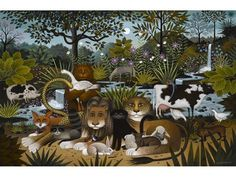 View King and Friends by Charles Wysocki on artnet. Browse upcoming and past auction lots by Charles Wysocki. Acorn And Oak, Global Art, Naive, Animal Paintings, Art Market, Folk Art, Past, Doodles, Auction