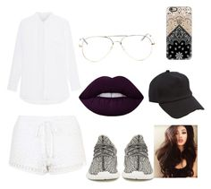 """""""Untitled #21"""" by codyhardy ❤ liked on Polyvore featuring Topshop, adidas Originals, Lime Crime, rag & bone and Casetify"""