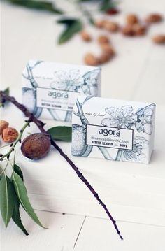 *NEW* Press from Living Postcards for our Botanical Olive Oil Soaps!