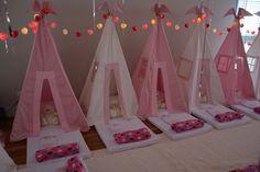 Diversão e Alegria na Festa do Pijama da Bella - Noite Mágica! #festadopijama#teepee#cabanas#sleepover#girls#onlygirls#BFF#magia#diversão#crazyfortents