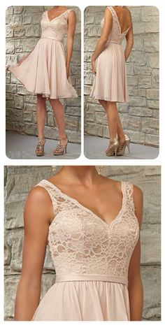 lace bridesmaid dress, short bridesmaid dress, champagne bridesmaid#prom #party #evening #dress #dresses #gowns #cocktaildress #EveningDresses #promdresses #sweetheartdress #partydresses #QuinceaneraDresses #celebritydresses #2017PartyDresses #2017WeddingGowns #2017HomecomingDresses #LongPromGowns #blackPromDress #AppliquesPromDresses #CustomPromDresses #backless #sexy #mermaid #LongDresses #Fashion #Elegant #Luxury #Homecoming #CapSleeve #Handmade #beading