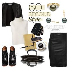 """""""60-Second Style: Tech Job Interview"""" by pearlparadise ❤ liked on Polyvore featuring Maglie I Blues, Étoile Isabel Marant, Givenchy, Undercover, Yves Saint Laurent, Case-Mate, Swarovski, contestentry, pearljewelry and 60secondstyle"""
