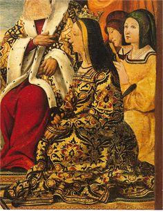- OPUS INCERTUM - : LA SAYA DE MUJER (III) en el siglo XV e inicios del XVI. Pedro mates. Catedral de Gerona.