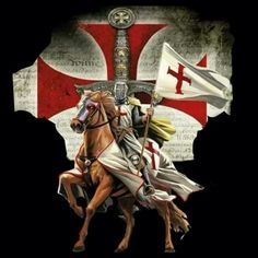 Discover Knight Templar Warrior Sweatshirt, a custom product made just for you by Teespring. - Beautiful and quality Knight Templar. Templar Knight Tattoo, Tattoo Guerreiro, Crusader Knight, Christian Warrior, Knight Art, Medieval Knight, Jesus Pictures, Chivalry, Knights Templar