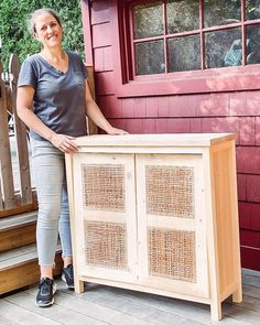 And just like that the cabinet doors now have their console. Ana White Furniture, Diy Furniture Easy, Diy Furniture Projects, Diy Home Decor Projects, Furniture Layout, Handmade Furniture, Home Improvement Projects, Furniture Making, Rustic Hardware