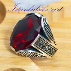 Excited to share the latest addition to my shop: Mens Handmade Ring Turkish Handmade Silver Men Ring Ottoman Mens Ring Ruby Ring Men Ring Gift for Him Sterling Silver Ring Mens Silver Rings, Silver Rings Handmade, Silver Man, Sterling Silver Jewelry, Silver Earrings, Silver Bracelets, Handmade Jewelry, Men's Jewelry Rings, Man Jewelry