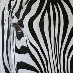 Зебра. Картина Тьерри Биш (англ. Thierry Bisch, р. 1953) - современный французский художник Биография, картины: http://contemporary-artists.ru/Thierry_Bisch.html