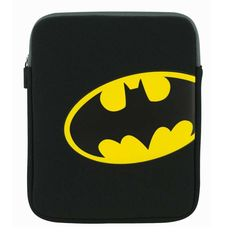 Logo - The perfect protection for your Ipad this neopreene sleeve with soft, plush lining has a zip closure to hold your treasured device in place. Batman Logo, Superhero Logos, Comic Clothes, Bat Signal, Laptop Sleeves, Dc Comics, Plush, Ipad, Gadgets