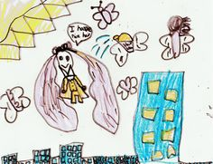 maggie's super hero girl inspired by my creative doodles online workshop! <3 this!!