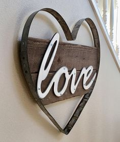 Home Design Ideas: Home Decorating Ideas Rustic Home Decorating Ideas Rustic Rustic Love Sign, Wood Sign, Wood Signs, Wooden Signs, Wine Gifts, Love Decor, R...
