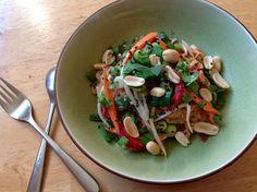 Peanut Butter Thai Noodle Salad