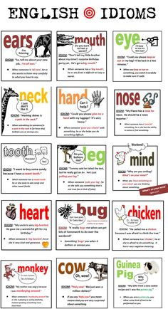 English idioms - Repinned by Chesapeake College Adult Ed. We offer free classes on the Eastern Shore of MD to help you earn your GED - H.S. Diploma or Learn English (ESL) . For GED classes contact Danielle Thomas 410-829-6043 dthomas@chesapeke.edu For ESL classes contact Karen Luceti - 410-443-1163 Kluceti@chesapeake.edu . www.chesapeake.edu