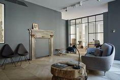 coffee in the sun: Het Fritz Hansen huis in Milaan met jubileum uitgave Vlinderstoel