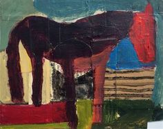 """Saatchi Art Artist laure heinz; Painting, """"Horse Study"""" #art Drawings, Horse Painting, Painting, Selling Art, Art, Selling Art Online, Saatchi Art, Prints, Original Artwork"""