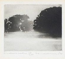 * Norman ACKROYD (b.1938), Limited edition monochrome etching, 'Windrush Wa
