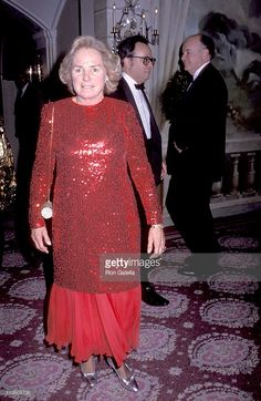 Ethel Kennedy during Tribute to City Council President Andrew Stein at Pierre Hotel in New York City, New York, United States.