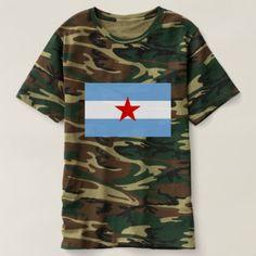 Bandera Socialista / Comunista de Argentina T-shirt custom gift ideas diy