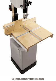 Bandsaw Table System Woodworking Plan - Wood Magazine
